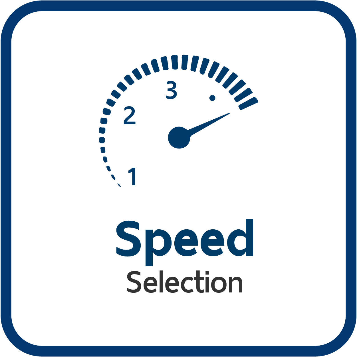 3 Speed Selection